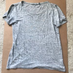 Athleta T with Cut-Out Sleeves